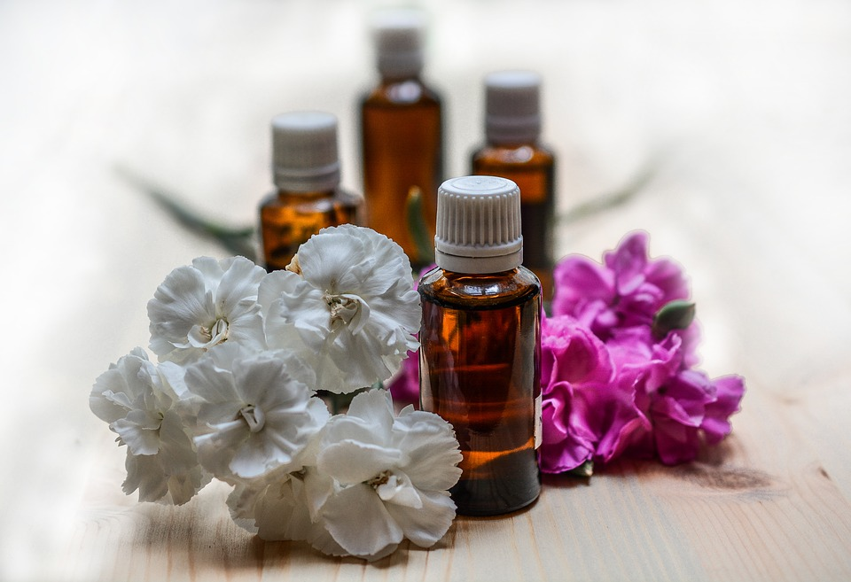 Essential oils for erotic massages